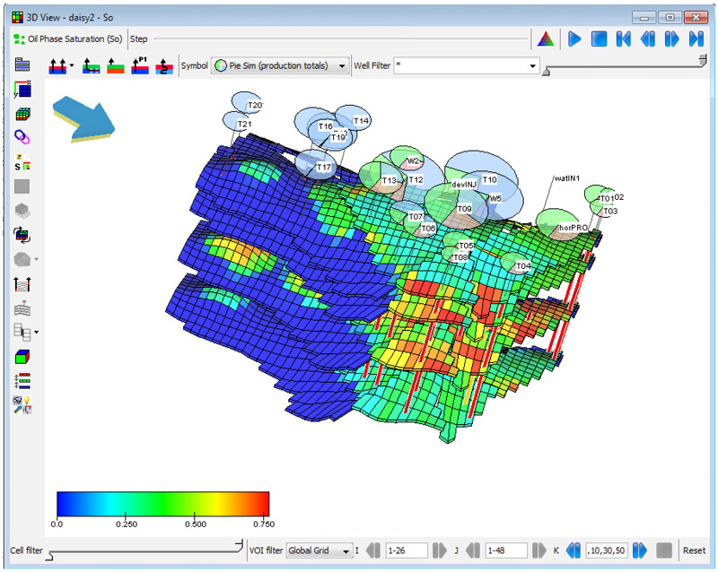 Emerson Expands Reservoir Management Software Capabilities For - Us-oil-fields-map