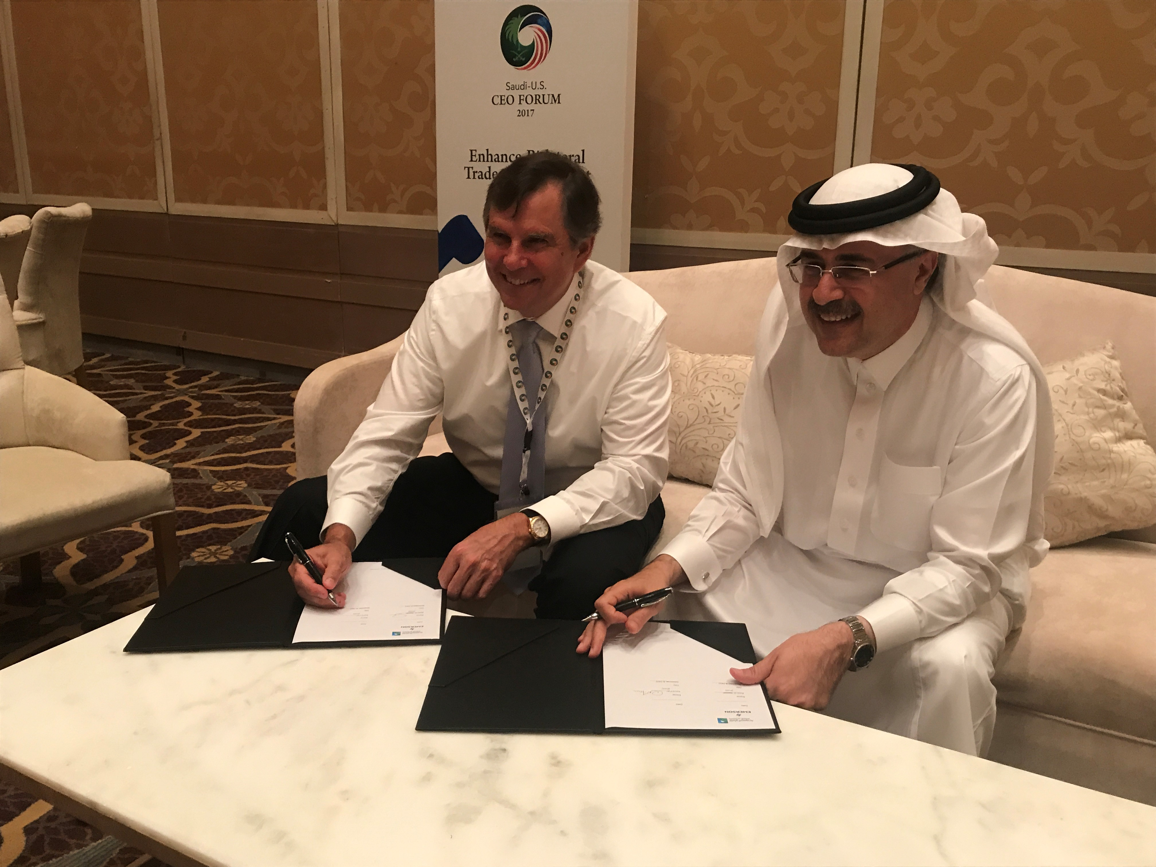 Emerson Signs Agreement to Collaborate on Digital Transformation for