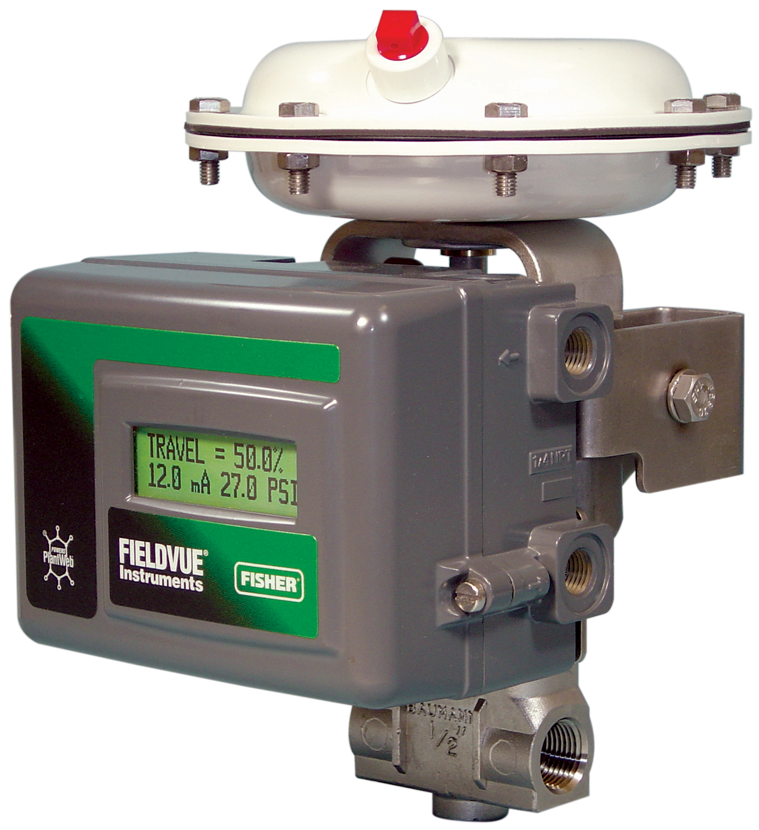 Fisher FIELDVUE DVC2000 digital valve controller.