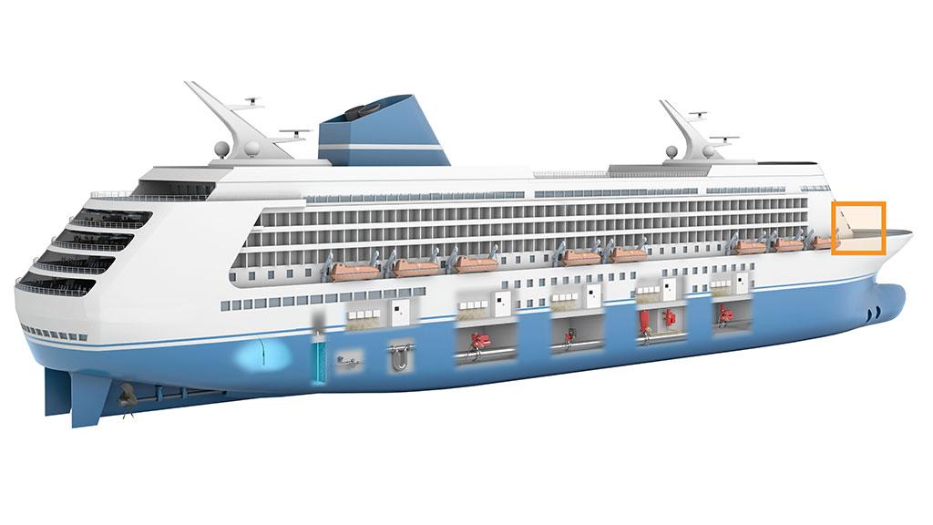 Cruise Ship - Cruise ship controls