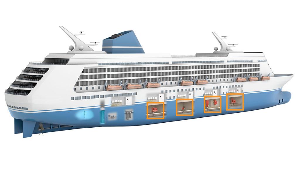 Cruise Ship - Remote control cruise ship