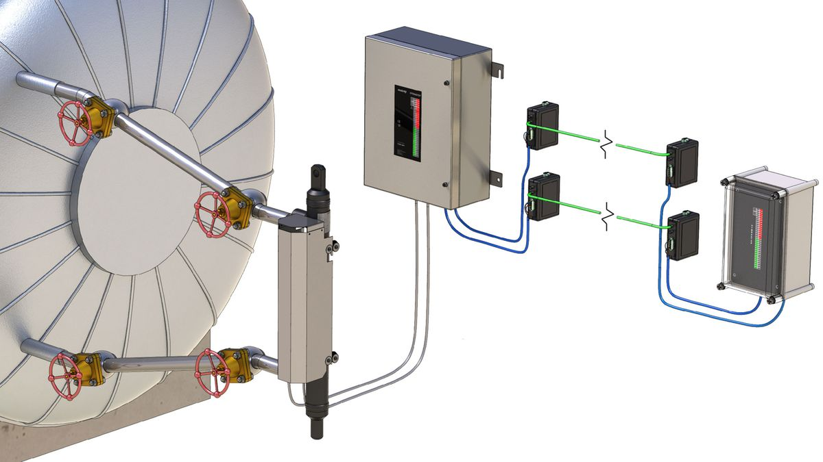 Mobrey Emerson Au Electrical Wiring Control Systems And Fluid Engineering Software Communicate Using Fiber Optics With Water Steam Monitoring