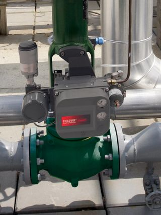 control valves emerson in