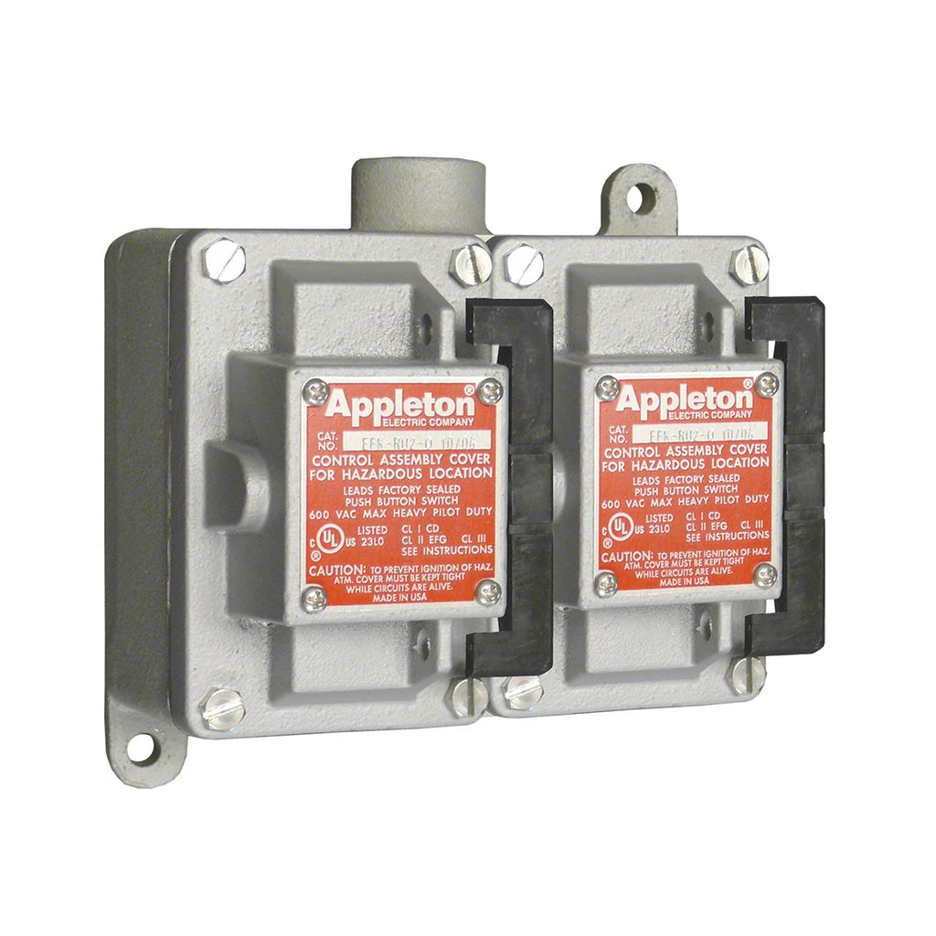 Efd Efdb And Eds Series Control Stations Pilot Lights Controls Electricity How Do Switches Lamps In A Circuit Appleton
