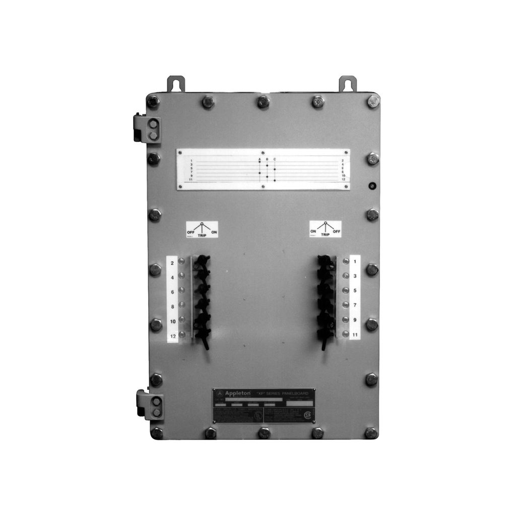 Xp Series Non Factory Sealed Circuit Breaker Panelboards Your Elctricity Home Oil Breakers Appleton