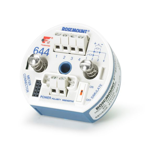 Rosemount 644 Temperature Transmitter | Emerson US on