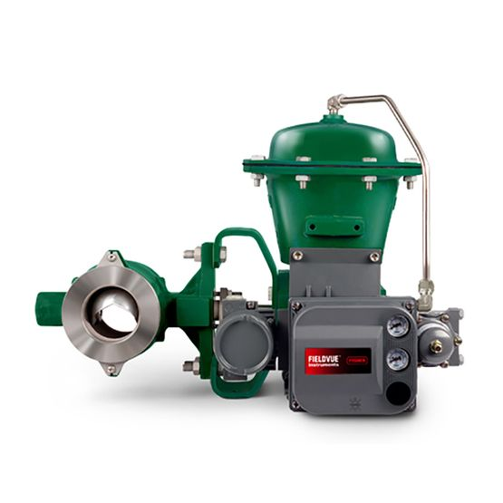 VAN BI FISHER- MỸ -Fisher™ Vee-Ball™ V200 Control Valve