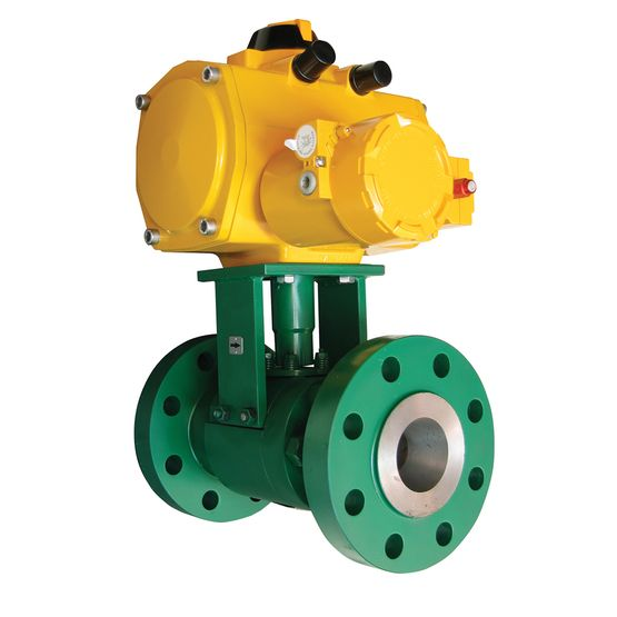VAN BI FISHER- MỸ - Fisher™ Z500 Severe Service Ball Valve