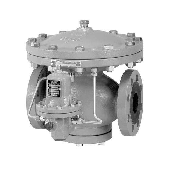 Fisher Type 92B Self-Powered Control Valve on