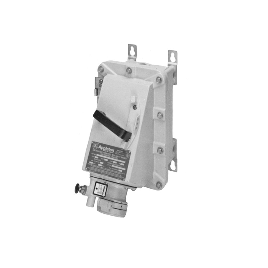 Dbr 30 60 100 And 150 Amp Series Receptacles Plug Receptacle Fuse Switch Box Safety Appleton