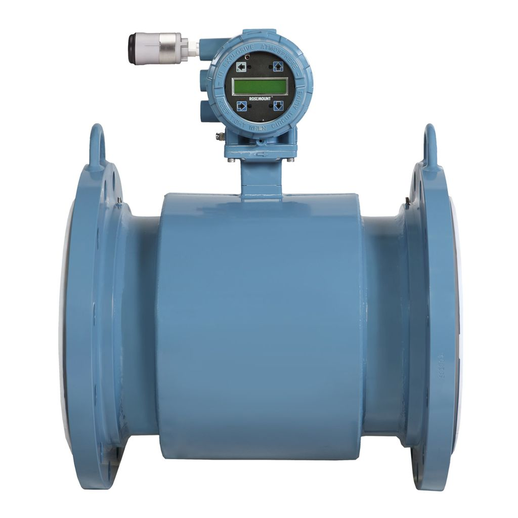 Rosemount 8750w Magnetic Flow Meters For Utility Water Applications Oil Pressure Sending Unit In Addition Thermocouple Wiring Marine