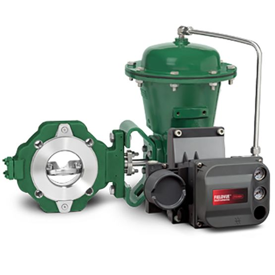 Fisher™ 8580 High Performance Butterfly Valve | Emerson US