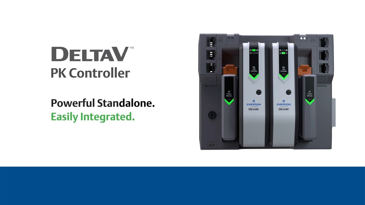 Deltav Pk Controller Emerson Us Ultrasonic Motion Detector Project With Versatile Controls Bridging The Gap Between Dcs And Plc Systems