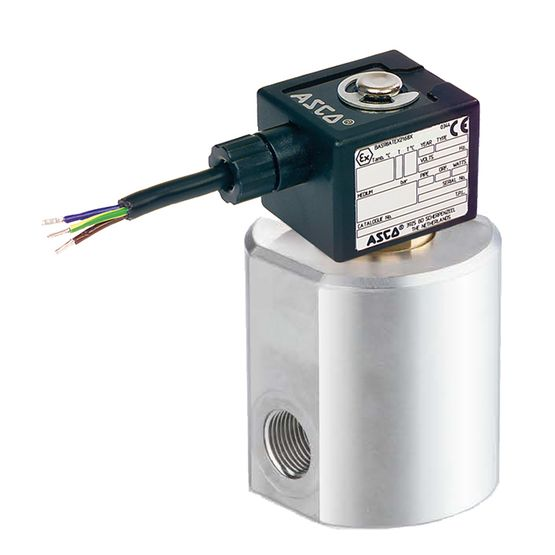 ASCO | Series 291 | Compressed Natural Gas Valve | Emerson US