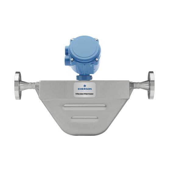 Micro motion f-series compact, drainable coriolis flow and density.