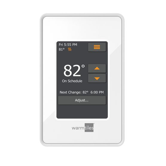 Warm Tiles Es Colortouch And Esw Wifi Colortouch Thermostats